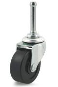 Dh Casters C-R200S1Z 5.1cm Lt Furn Rigid Pl C-R200S1Z