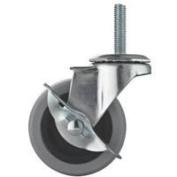 Mintcraft 7.6cm Tpr Stem Caster W/Brake JC-N08-G