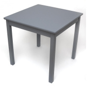 Lipper International Child's Table- Grey