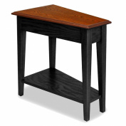 Leick Recliner Wedge End Table - Black