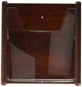 Wooden Mallet 1 Pocket Wall Display