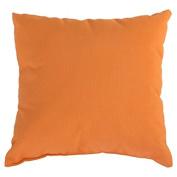 Essentials by DFO Tangerine Sunbrella Outdoor Throw Pillow