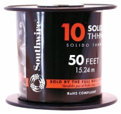 Southwire Company 11599817 130cm 10 Gauge Solid Green Thhn Wire