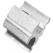 Morris 90447 Morris Products 90447 H-Tap, Compression Connector Type, aluminium, 3/0-4/0 Run To 3/0-4/0 Tap Wire Range
