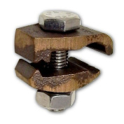 Morris 91716 Morris Products 91716 I Beam Ground Clamp, Isolated From Beam, #4 - 2/0 Wire Range