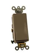 Leviton 5691-2GY 15 Amp, 120/277 Volt, Decora Plus Rocker Single-Pole AC Quiet Switch, Commercial Grade, Grey