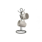 Home Basics Mug Tree Black
