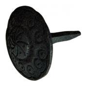 Clavos Decorative Nail Big Head Black Iron 7.6cm H X 5.1cm W | Renovator's Supply