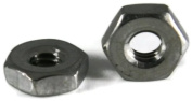 Hex Machine Nuts 18-8 Stainless Steel - #4-40 (1/4 Flats x 3/32 Thick) Qty-1,000