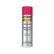 Red Rust Preventative Spray Paint, Fluorescent Finish, 410ml 2264838
