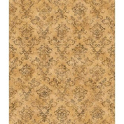 Brewster FFR66352 Neutrals Stencil Damask Wallpaper