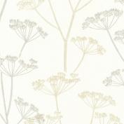 Brewster 2532-20429 Albury Beige Brasilia Flower Wallpaper