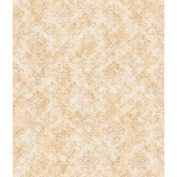 Brewster FFR66355 Taupe Stencil Damask Wallpaper