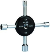 Supco 631497 Six-In-One Lug Wrench