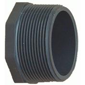 Genova Products Inc 318158 Plug Schedule 80 PVC, 0.5 Mip