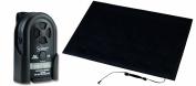Secure Floor Mat Alarm Set - 60cm x 90cm Alarming Floor Mat For Fall & Wandering Prevention - Tamper-Proof 70-120 dB Alarm Monitor - One Year Warranty