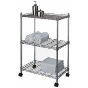 Shelf 3-Tier Adjustable Chrome