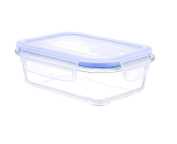 Kinetic Go Green Glasslock Elements Series 650ml Rectangular Food Storage Container with Vented Lid 55082