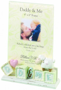 Lillian Rose Daddy and Me Picture Frame, Little Lamb, 10cm x 15cm
