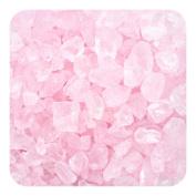Sandtastik Preschool Craft Coloured ICE Real Glass Gems, Scatters 10 lb (4.5 kg) Box; 4 - 10 mm - Pink