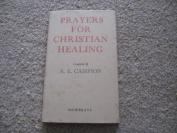 Prayers for Christian healing
