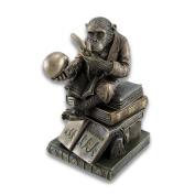 Smart Chimpanzee Scholar Trinket Box Stash Box