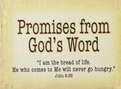 Christian Art Gifts 364553 Promise Box Bread Of Life