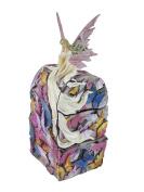 Beautiful Butterfly Fairy 3 Drawer Trinket/Jewellery Dream Box