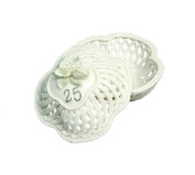 25th Wedding Anniversary To Have & To Hold Porcelain Trinket Basket