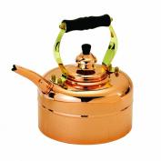 Old Dutch International Tri-Ply Copper Windsor Whistling Teakettle 2.8l.