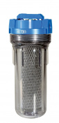 DuPont Water Filters Valve-in-head Whole House Water Filtration System blue/clear WFPF38001C