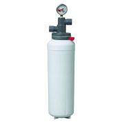 3M Cuno ICE160-S Single Cartridge Ice Machine Water Filtration System - 0.2 Micron Rating and 3.34 G