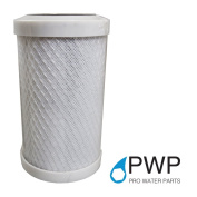 PWP In Carbon Block Water Filter Whole House RO CTO 2.5 x 5 10 Micron