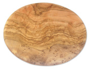 Berard Olive Wood Round Cutting Board - 23cm
