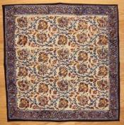 Kalamkari Block Print Cotton Table Napkin 46cm x 46cm Multi Colour