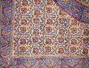 Kalamkari Block Print Square Cotton Tablecloth 150cm x 150cm Multi Colour
