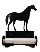 Village Wrought Iron TT-B-68 Horse Toilet Tissue Holder