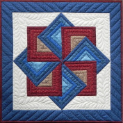 Starspin Wall Quilt Kit-60cm x 60cm
