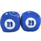Duke Blue Devils Plush Team Fuzzy Dice