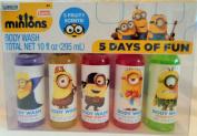 Minions 5 Days of Fun Body Wash Set