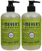 Liquid Hand Soap, Lemon Verbena, 370ml, 2 pk