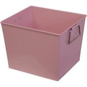 Neu Home Square Metal Bucket, Pink
