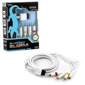 KMD 1.8m S-Video RCA AV Cable For Nintendo Wii/ Wii U