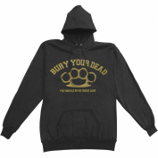 Bury Your Dead Men's Hooded Sweatshirt Large Black