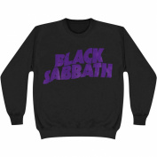 Black Sabbath Men's Logo Sweatshirt XX-Large Black
