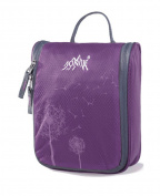 AoMagic Anti-tear Nylon Fabric Cosmetic Bag Large Capacity Travel Toiletry Bag Purple