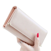Yoyorule Women Clutch Long Purse Leather Wallet Credit Card Holder Bags
