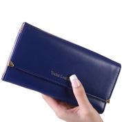 Yoyorule Women Clutch Long Purse Leather Wallet Credit Card Holder Bags
