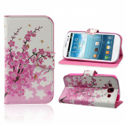 Fullkang Flower Flip Leather Case Cover for Samsung Galaxy S3 III i9300