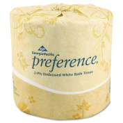 Georgia Pacific - Preference, Bath Tissue, 2-Ply, 550 Sheets - 80 Rolls